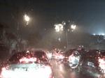 Hujan Deras di Jakarta Petang Ini