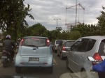 Macet @ fly over Kedoya, Kebon Jeruk